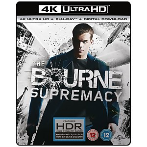 The Bourne Supremacy - 4K Ultra HD
