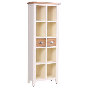 Vancouver Expressions Linen 2 Drawer Bookcase