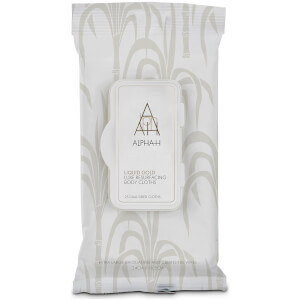 Alpha-H Liquid Gold Luxe Resurfacing Body Cloths - 25 Cloths