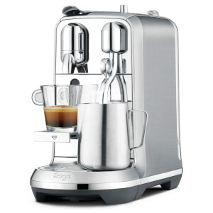Sage BNE800BSS Nespresso Creatista Plus Coffee Machine - Stainless Steel