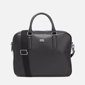 Ted Baker Men's Caracal Leather Document Bag - Black
