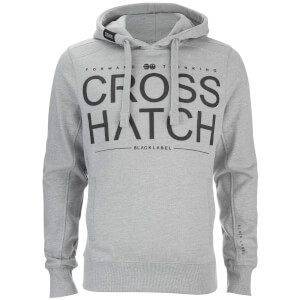 Sweat à Capuche Homme Sevcon Rib Detail Crosshatch - Gris