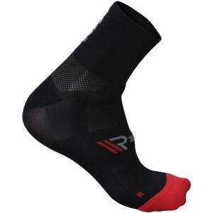 Sportful R&D Cima 8 Socks - Black/Fire Red