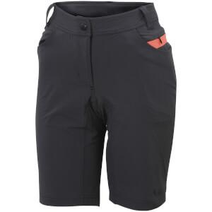 Sportful Women's Giara Over Shorts - Black