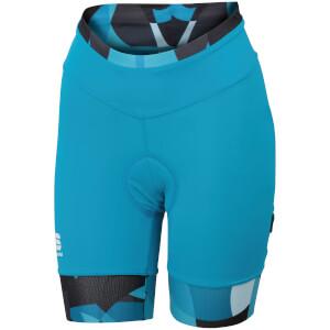 Sportful Women's Primavera Shorts - Blue/Turquoise