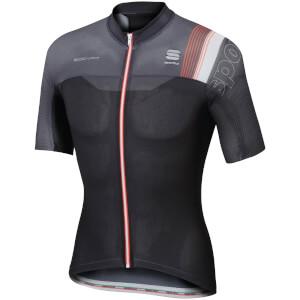 Sportful BodyFit Pro Race Short Sleeve Jersey - Black/Grey