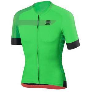 Sportful Veloce Short Sleeve Jersey - Green