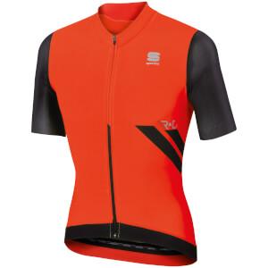 Sportful R&D Ultraskin Short Sleeve Jersey - Red/Black