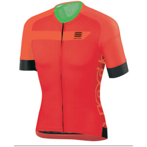 Sportful Veloce Short Sleeve Jersey - Red