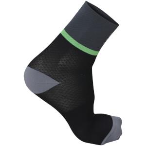 Sportful Giara 15 Socks - Green/Black