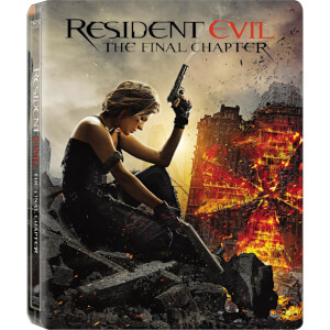 Resident Evil: The Final Chapter - Limited Edition Steelbook