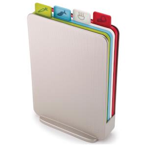 Joseph Joseph Index Compact Chopping Boards - Silver
