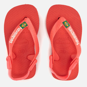 Havaianas Toddlers' Brasil Logo Flip Flops - Coralnew