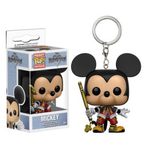 Kingdom Hearts Mickey Pocket Funko Pop! Keychain