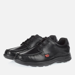 Kickers Kids' Reasan Lace Up Shoes - Black