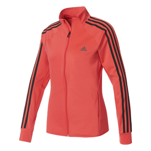 adidas Women's D2M 3 Stripe Track Top - Core Pink