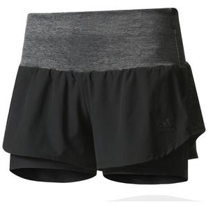 adidas Women's Ultra Energy Running Shorts - Black