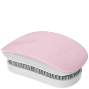 ikoo Pocket Hair Brush - White - Cotton Candy