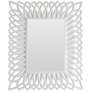 Swirl Photo Frame 5 x 7 - White High Gloss