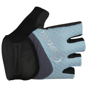Castelli Women's Arenberg Gel Gloves - Pale Blue/Midnight Navy