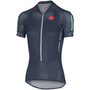 Castelli Women's Climbers Jersey - Midnight Navy/Pale Blue