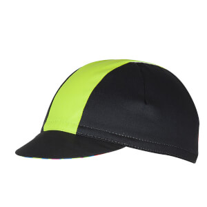 Castelli Fausto Cycling Cap - Multicolour Fluo - One Size