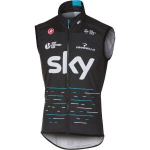 Team Sky Pro Light Wind Gilet - Black