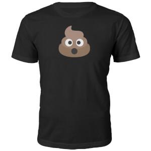 T-Shirt Unisexe Emoji Caca -Noir