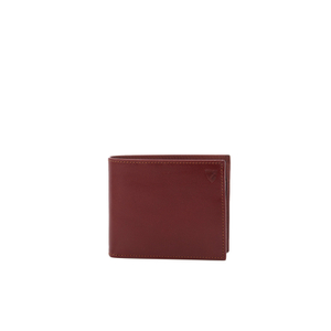 Aspinal of London Men's Billfold Coin Wallet - Cognac Espresso