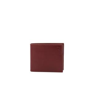 Aspinal of London Men's Billfold Coin Wallet - Cognac Espresso
