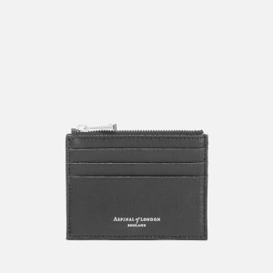 Aspinal of London Coin and Credit Card Case - Black