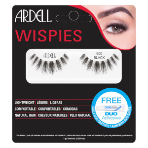 Pestanas Falsas Wispies Cluster da Ardell - 600 Black