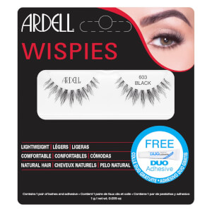 Ardell Wispies Cluster False Eyelashes - 603 Black
