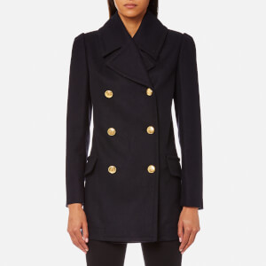 Vivienne Westwood Anglomania Women's Mosto Coat - Blue/Black