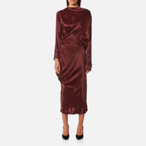 Vivienne Westwood Anglomania Women's New Fond Dress - Oxblood