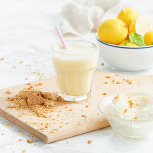 Meal Replacement Lemon Cheesecake Shake