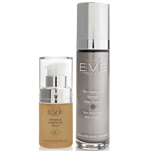 Сыворотка Eve Rebirth Botanical Bright & Lift Serum и крем Eve Rebirth Bio-Intelligent Wrinkle Filler Cream