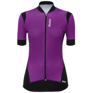 Santini Women s Wave Jersey - Violet 403cd6186