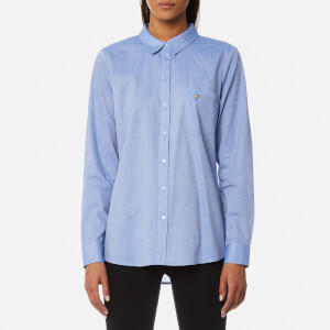 Gestuz Women's Lith Shirt - Denim Blue