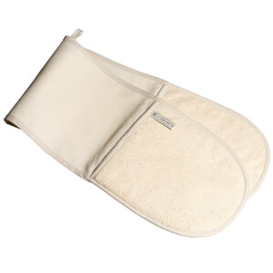 Le Creuset Textiles Double Oven Gloves - Cream
