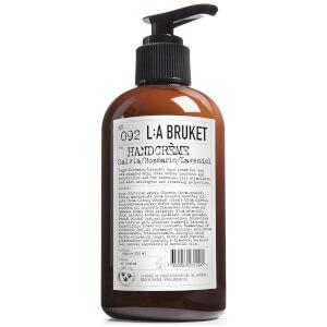 L:A BRUKET Hand Cream 250ml - Sage/Rosemary/Lavender