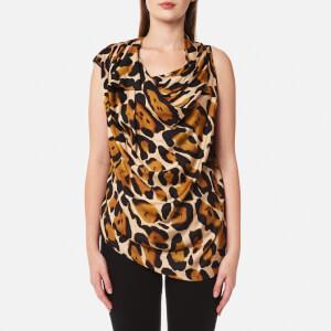 Vivienne Westwood Anglomania Women's Due Blouse - Leopard