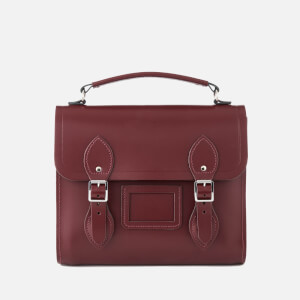 The Cambridge Satchel Company Women's Barrel Backpack - Oxblood