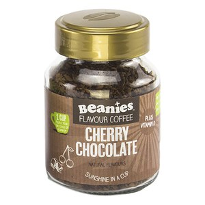 Beanies + Vitamin D Chocolate Cherry Flavour Instant Coffee