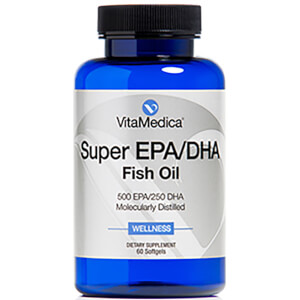 VitaMedica Super EPA/DHA Fish Oil Dietary Supplement (Worth $38.00)