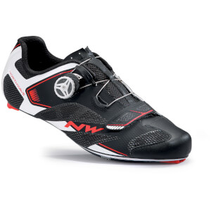 Northwave Sonic 2 Plus Cycling Shoes - Black/White/Red