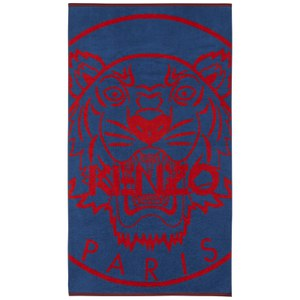KENZO Newtiger Beach Towel - Bleu