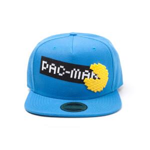 Pac-Man Pixel Snapback Cap - Blue