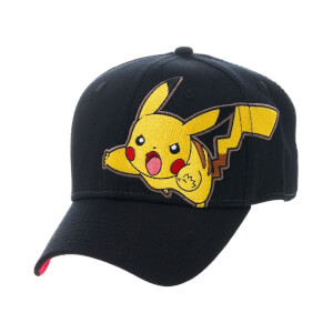 Pokémon Pikachu Adjustable Cap - Black/Yellow