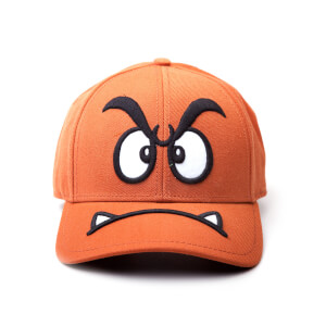 Nintendo Super Mario Goomba Adjustable Cap - Brown